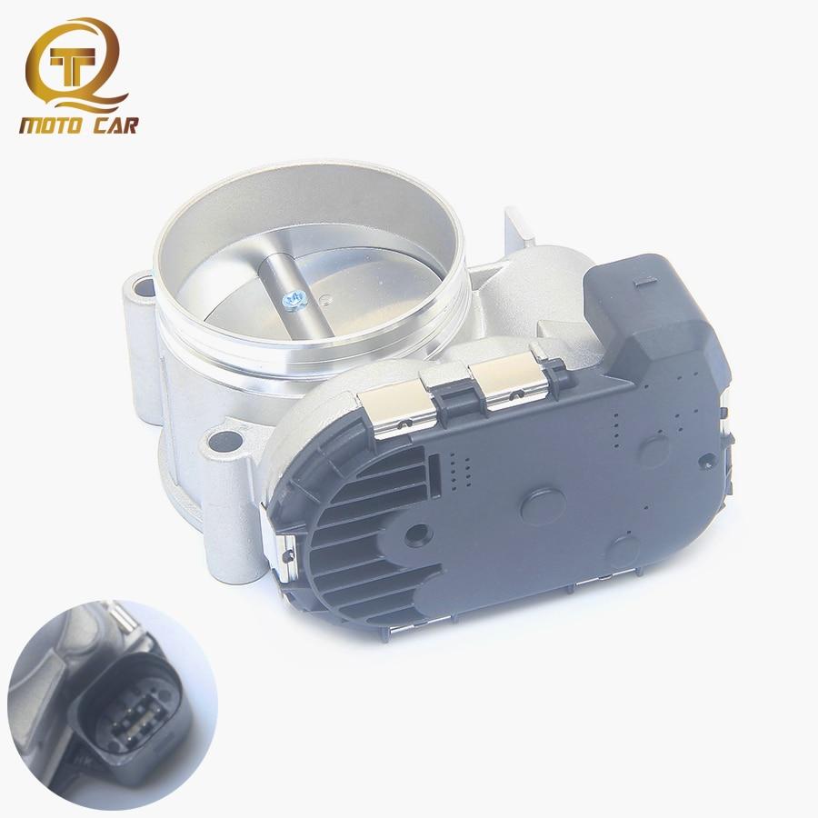 Para para coche Audi A4 A5 A6 A8 Q7 R8 S6 S8 V6 V8 V10 del cuerpo del acelerador de la Asamblea 078133062C 0280750003 0280750489 se ajusta a 2001, 2002, 2003-2010