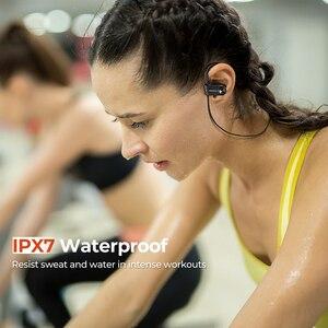 Image 3 - Mpow D9 kablosuz kulaklıklar Bluetooth 5.0 kulaklık APTX spor mikrofonlu kulaklık IPX7 su geçirmez için Huawei P30 iPhone 11