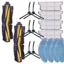 Robotic Vacuum Cleaner sparts Parts Kits Roller Main Side Brush cloth mop filter Hepa for Ilife V7S pro v7s V7s plus V7