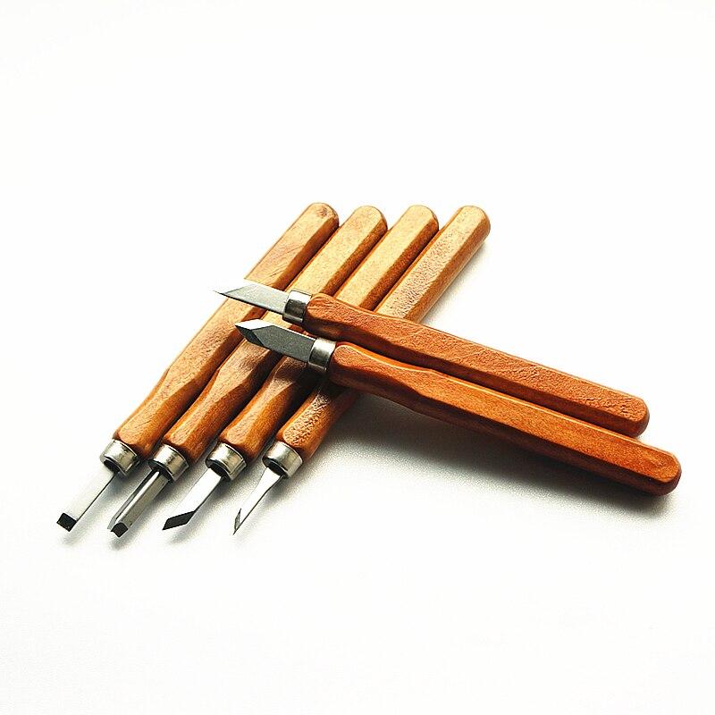 12 шт. резьба по дереву долотом инструменты резьба по дереву для деревообработки гравировальный нож набор инструментов