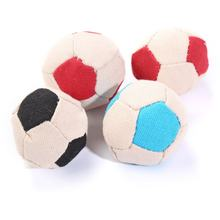 Домашнее животное кошка двухцветный Холст Футбол плюшевая игрушка