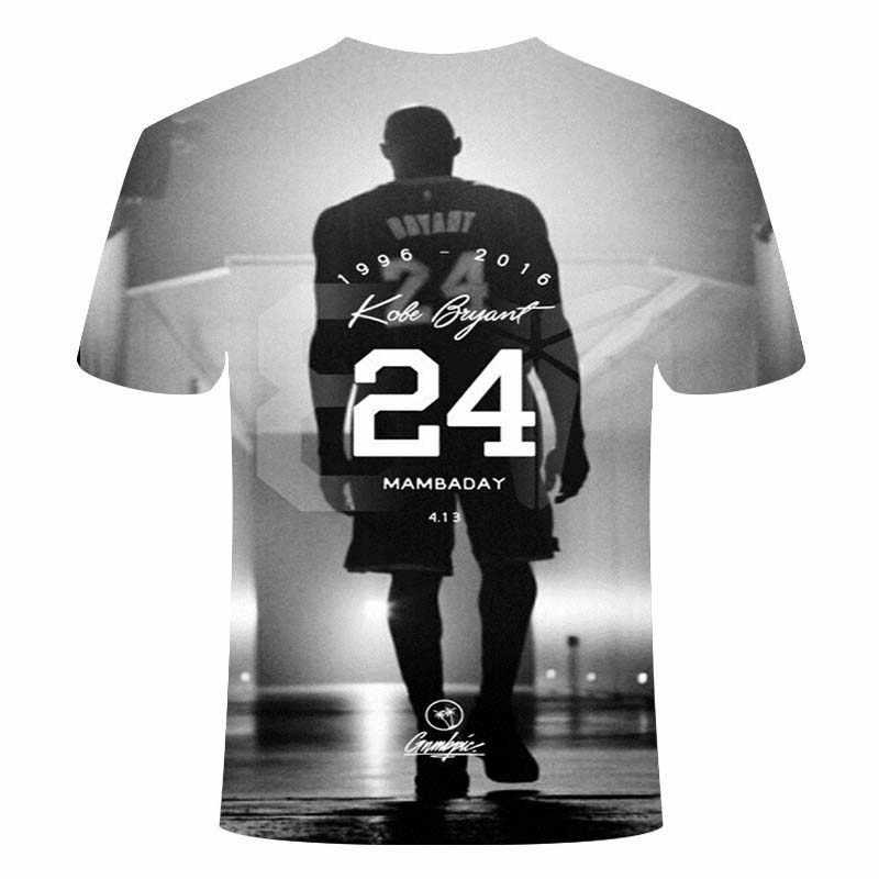 神戸ブライアンtシャツブラックマンバ男性のtシャツ 3Dファッション半袖トップスtシャツtシャツヒップホップおかしいtシャツ