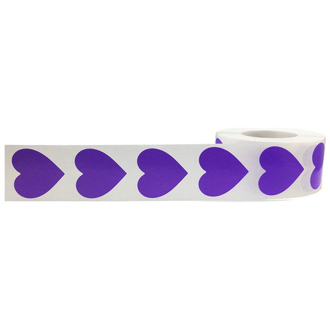 etiquetas adesivas do amor 2 polegada