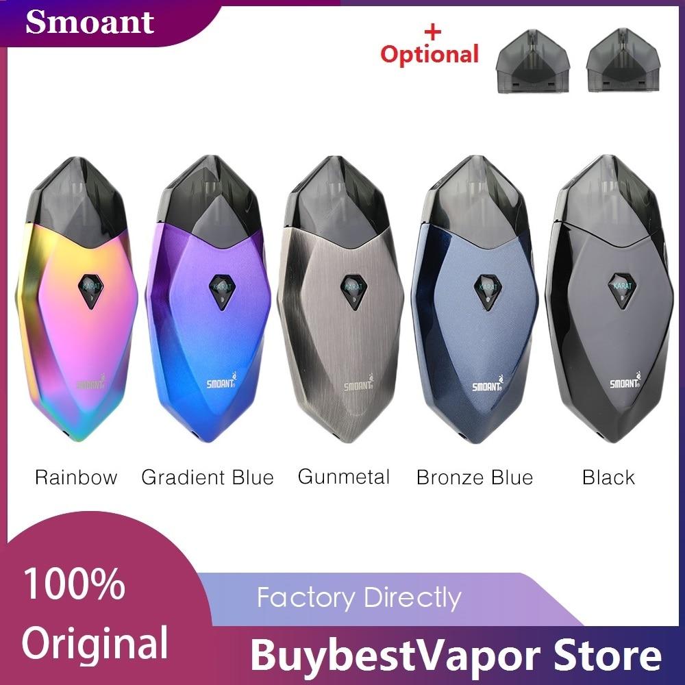 Original Smoant Karat POD Kit With 370mAh Battery & 2ml Cartridge Pod Vape Kit E Cigarette Vs Smoant S8 / Renova Zero/ Vinci X