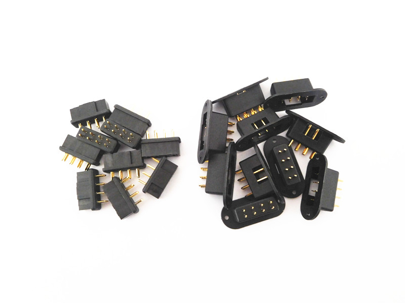 5/10 Pairs MPX 8 core Connector, Male & Female Multiplex 8 Pin Plug for signal transmission & low current drive connecting(China)