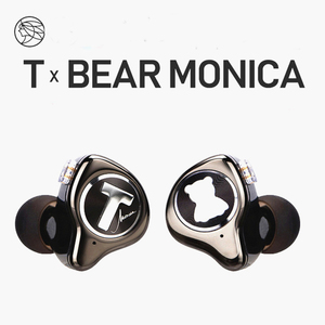 Image 1 - TFZ T X BEAR MONICA In Ear Monitor Professional Headphone Noise Canceling Super Bass DJ Music HIFI Headset Detachable Cable