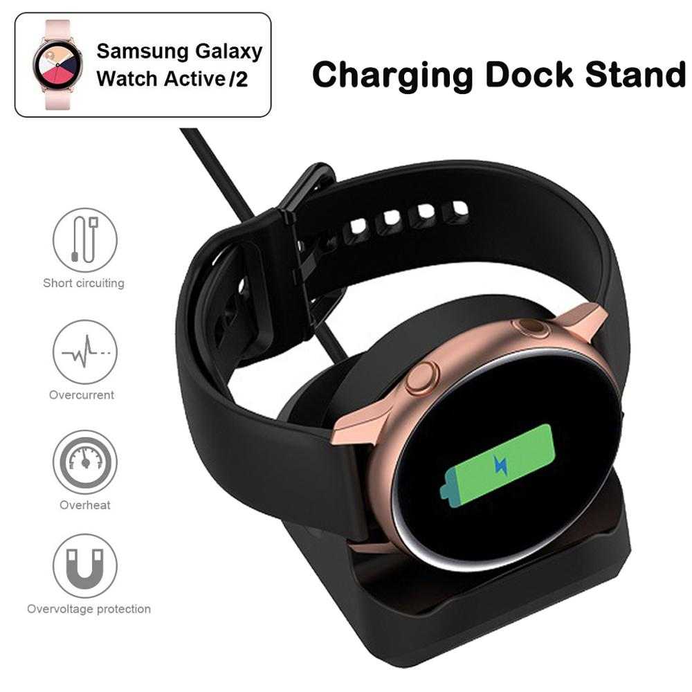 Charger Conversion Charging Dock Stand Bracket For Samsung Galaxy Active 2 40mm 44mm Band  Smart Watch Accessories Active2