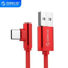 ORICO USB Type-C Fast Charging Cable For Samsung Note 8 S8 Mi A1 Xiaomi