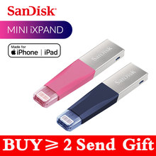 Sandisk iXPAND USB 3.0 OTG lecteur Flash 256GB foudre à métal lecteur de stylo 128GB 64GB U disque pour iPhone iPad iPod clé de mémoire