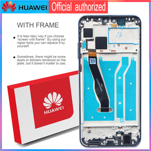 Image 3 - 6.5 Original LCD with Frame Replacement for HUAWEI Y9 2019 / Enjoy 9 Plus Display Touch Screen Digitizer Assembly