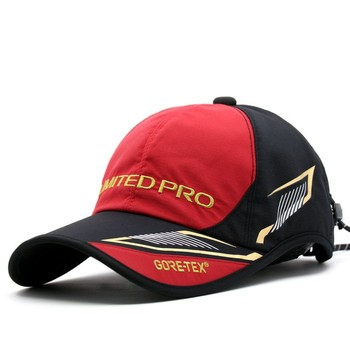 2020 New Men Summer Sun Protection Sunshade Caps Outdoor Fishing  Cap Solid Breathable Cotton Fishing Hat Hot Sell Hats 2