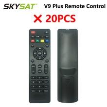 Receptor Satélite SKYSAT V9 Plus, mando a distancia sin batería, 20 Uds.