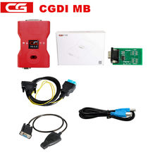 CGDI Prog MB for Benz Car Key Add Fastest for Benz Key Programmer Support All Key Lost with ELV/NEC Adapter Free ELV Simulator