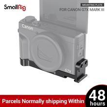 SmallRig G7X Mark III Tấm Gắn W/2 Lạnh Giày Cho Canon G7X Mark III Vlogging Giàn Khoan Có Thể Gắn có Micro 2433