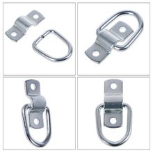 8Pcs Tie Down D Ring Load Forged Lashing Ring Trailer With 9600 Pound Capacity