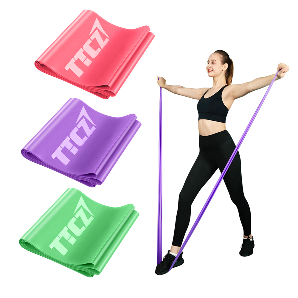 1pcs Training Fitness Gum Exercise Gym Strength Resistance Bands  Rubber Fitness Bands Crossfit Workout Equipment