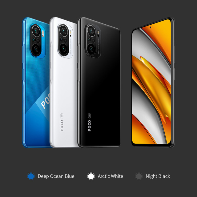 "Global Version POCO F3 5G Smartphone Snapdragon 870 Octa Core  6.67""120Hz E4 AMOLED Display 6GB 128GB/8GB 256GB NFC 33W Charger 5"