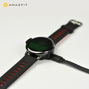 Image 3 - מקורי USB מטען טעינת Dock חכם אביזרי לxiaomi Huami Amazfit קצב חכם ספורט שעון