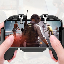 PUBG Mobile Controller L1R1 Gamepad with Cooling Fan for iOS Android Joystick Free Fire Trigger Pubg