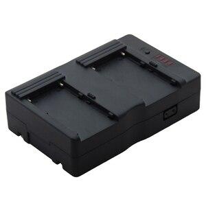 Двойное крепление для аккумулятора F970/F770 Sony, v-образная пластина для Tilta 5D 7D BMCC BMPCC FS700, клетка