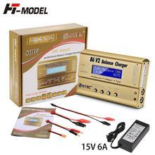 HTRC chargeur de Balance Imax B6 V2 80W 6a pour batterie LiIon/LiFe/NiCd/NiMH/haute puissance, adaptateur AC LiHV 15V 6a