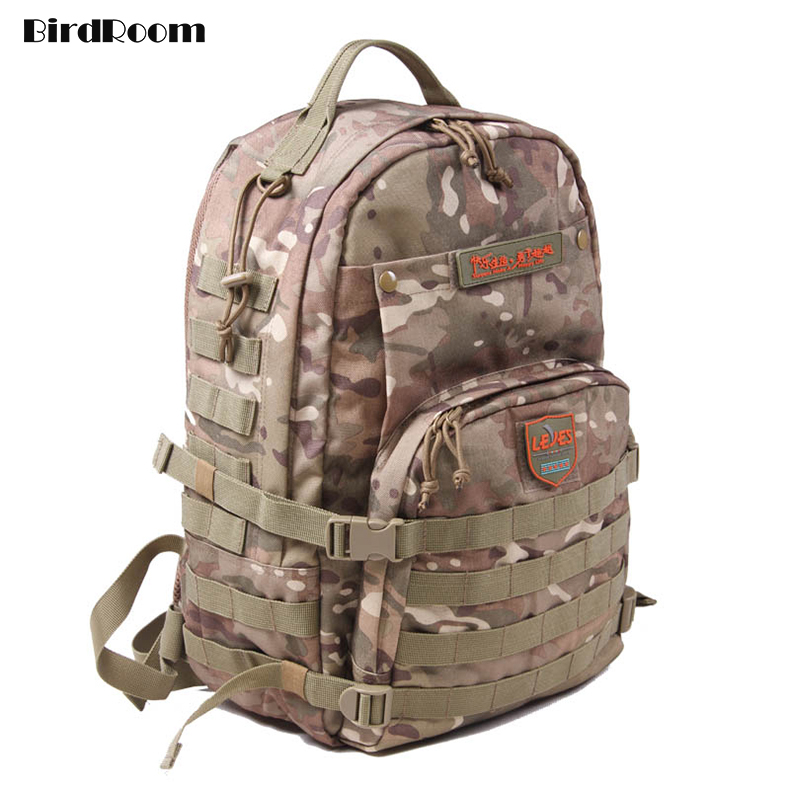 Tactical Pack Bag Men Military Enthusiasts Backpack Nylon Camouflage Sports Bags Waterproof Outdoor Mount Travel Bag Luggage