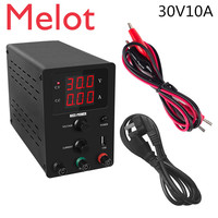 Newest Mini Laboratory power supply 30v 10a regulated switching power supply adjustable source bench source digital