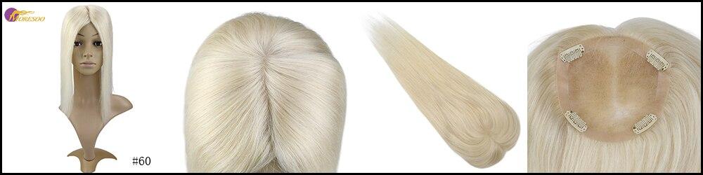Moresoo 5*5 topper cabelo humano grampo em