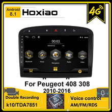 Android 8,1 2din Auto Radio für Peugeot 408 308 308SW 2010 2011 2012 2013 2014 2015 2016 GPS Bluetooth RDS wiFi BIN Stereo