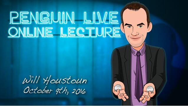Will Houstoun Penguin Live ACT MAGIC TRICKS