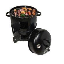 Grelha para churrasco, faça você mesmo, carvão redondo, bacon, grelhas de churrasco portátil 40x80cm