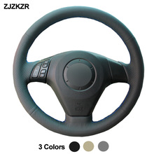 Car Auto Steering-Wheel Cover For Mazda 3 Axela 2004 - 2009 Mazda 5 2004 - 2010 Mazda 6 Atenza MPV Braid Volant 2005 2006 2007