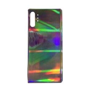 Image 4 - החלפה חזרה מקרה זכוכית סוללה כיסוי לסמסונג גלקסי הערה 10 Note10 + טלפון N9760 N9700 תיקון חלקים