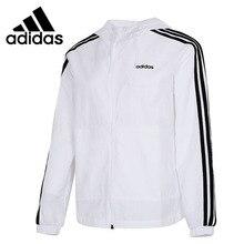Original New Arrival Adidas W CE 3S WB Women's jacket Hooded Sportswear