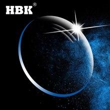 HBK مكافحة الضوء الأزرق سلسلة 1.56 1.61 1.67 GREEN EMI وصفة طبية الراتنج شبه الكروي نظارات العدسات قصر النظر قصر النظر الشيخوخي