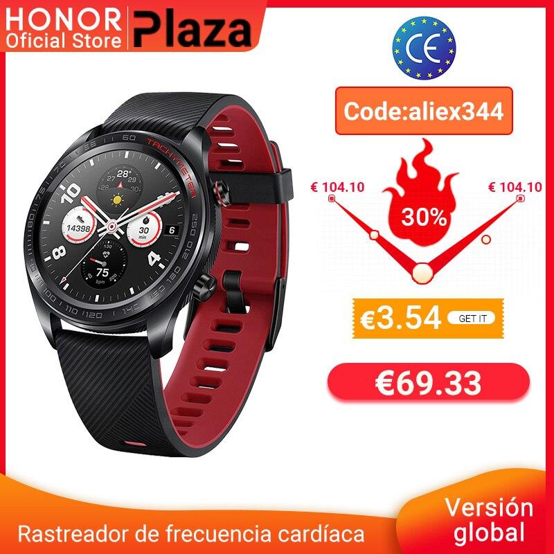 глобальная версия Honor Magic Watch умные часы с пульсометром WaterTraof GPS Телефонный звонок для Android iOS