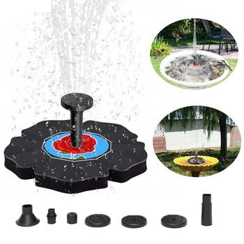2020 nowy zasilany energią słoneczną pływające oczko wodne pompa do fontanny ogród oczko wodne fontanna pływający na wodzie staw do ogrodu Dector tanie i dobre opinie CN (pochodzenie) Dropshipping Wholesale