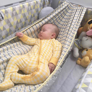 Baby Cribs Hanging Hammock Detachable Portable Folding Indoor Room Outdoor Swing Safety Infant Sleeping Bed Kids Funny Swing