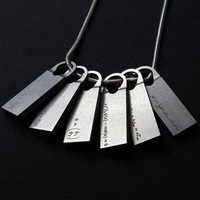Game Death Stranding Sam Porters Bridges Chemical Fomula Cosplay Necklace Pendant Jewelry