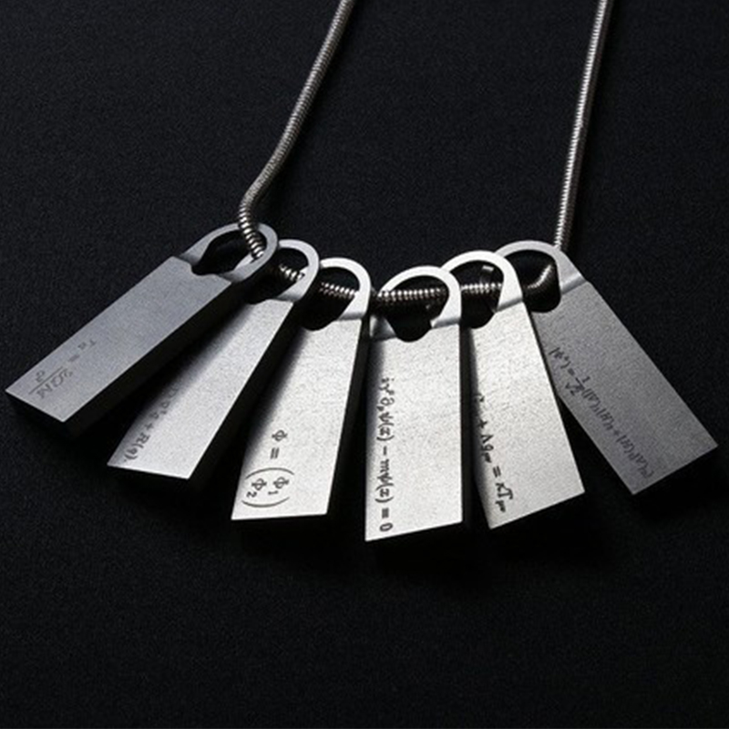 Game <font><b>Death</b></font> Stranding Sam Porters Bridges Chemical Fomula Cosplay Necklace Pendant Jewelry image