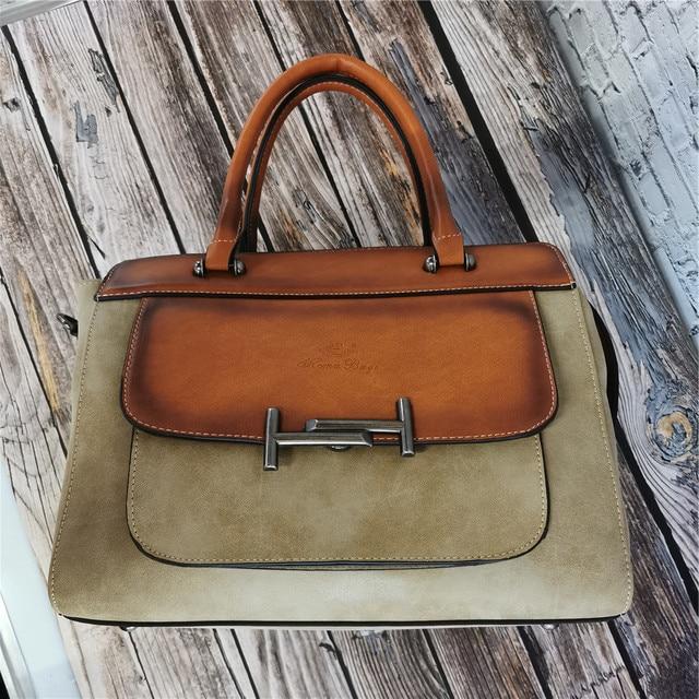 Classic Women's Leather Luxury Bag  2