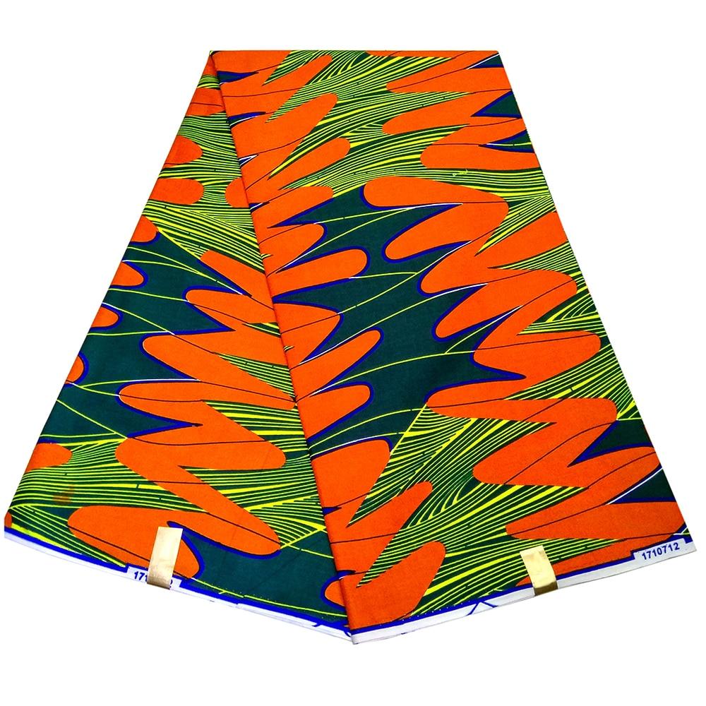 2019 New Design African Fabric 100% Cotton African Wax Prints Fabric Nigeria Ankara Veritable Real Dutch Wax