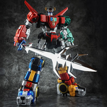 In Voorraad Titan Power Titanpower Tp TP 01 TP01 Titan Beest Koning Chogokin Voltron W/Led Action Figure