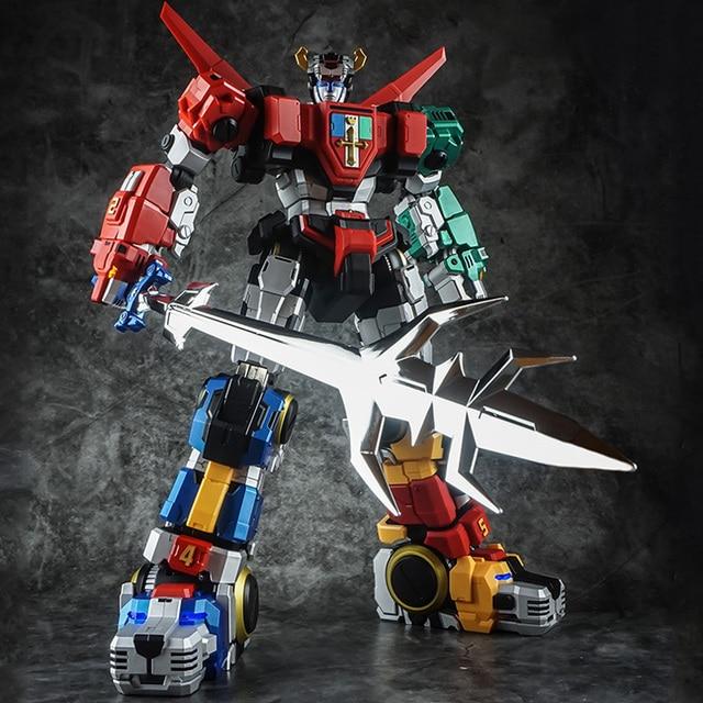 In Voorraad Titan Power Titanpower Tp TP 01 TP01 Titan Beest Koning Chogokin Voltron W/Led Action Figure