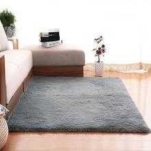 Современный супер мягкий прямоугольный ковер пушистые коврики противоскользящие ворсистые ковры для гостиной/спальни домашний декор