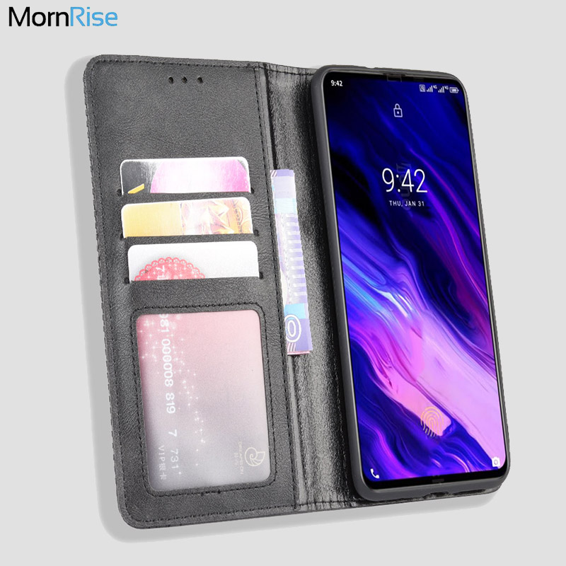 For Umidigi S5 Pro Case Book Wallet Vintage Slim Magnetic Leather Flip Cover Card Slot Stand Soft Cover Luxury Mobile Phone Bags