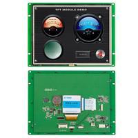 8-дюймовая Встроенная панель HMI 800*600 серийный интерфейс LCD сенсорный монитор с 3-летней гарантией