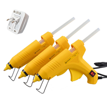 60/80/100W Hot Melt Glue  Gun with 11mm X 21cm Glue stick with Universal converter  Household hand tools