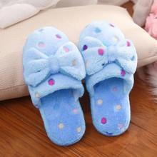 Zimowe ciepłe kapcie damskie buty miękkie wygodne ciepłe pantofle damskie pantofle domowe zimowe ciepłe pantofle domowe #3 tanie tanio Mnycxen Cotton Fabric Mieszkanie (≤1cm) Pasuje prawda na wymiar weź swój normalny rozmiar women s slippers #2018022805