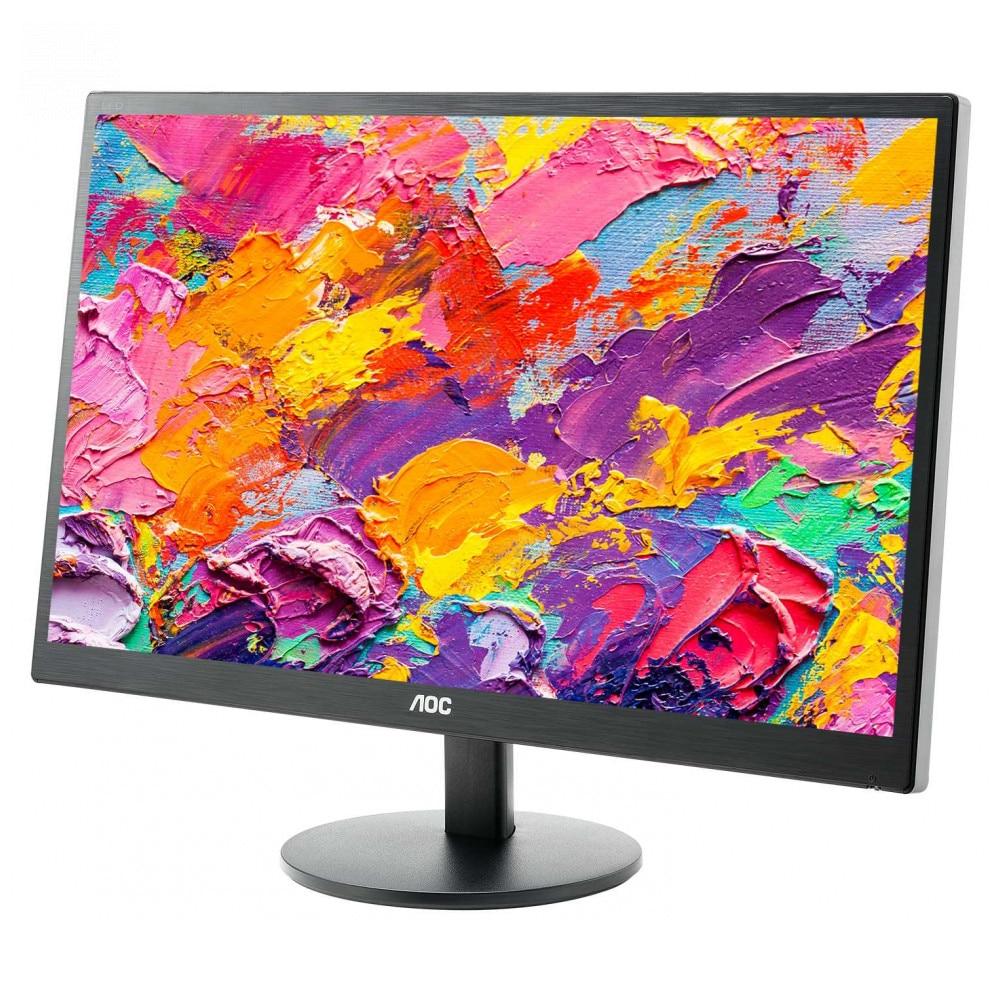 LCD Monitors AOC E2270Swn PC Peripherals Computer Game Monitor FHD MVA 215'' NonGLARE 200cd M2 H90° V65° 20М:1 5msVGA